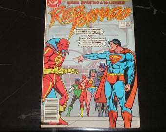 Red Tornado #1 1985 Storm Warning Good- Condition