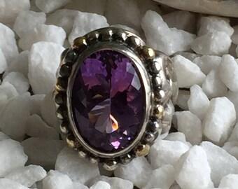 Arabesque Ring Amethyst