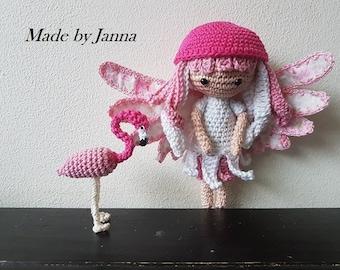 Het flamingo elfje