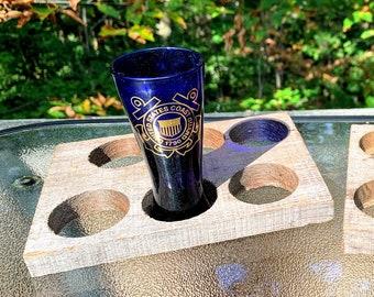 Teakewood Shot Glass Holders