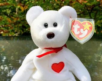 1995 TY Beanie Baby Valentino the Valentine Bear