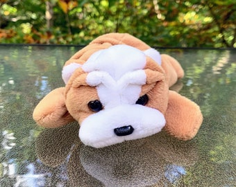 1996 TY Beanie Baby Wrinkles the Bulldog
