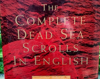 The Complete Dead Sea Scrolls in English Book
