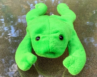 1993 TY Beanie Baby Legs the Frog