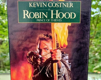 1991 Robin Hood: Prince of Thieves VHS