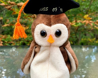 1998 TY Beanie Baby Wise the Owl