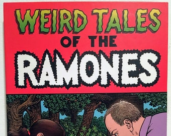 Weird Tales of the Ramones CD Box Set with Comic Book and DVD