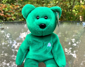 1998 TY Beanie Baby Erin the Teddy Bear