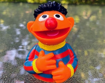 1985 Sesame Street Ernie Finger Puppet Toy