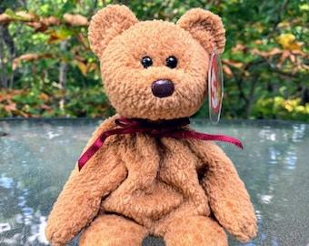 1996 TY Beanie Baby Curly the Bear