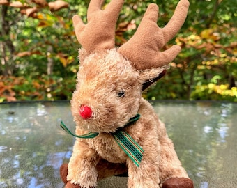 TY Beanie Baby Rudy the Reindeer