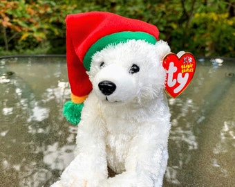 TY Beanie Baby Snowdrift the Polar Bear