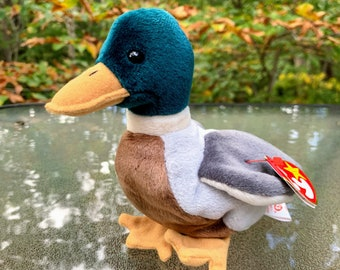 1998 TY Beanie Baby Jake the Mallard Duck
