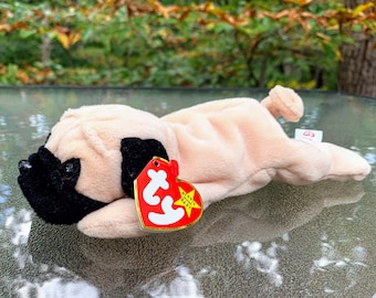 1997 TY Beanie Baby Pugsly the Dog