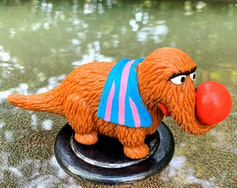 1985 Sesame Street Snuffleupagus PVC Figure by Applause