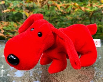 1996 TY Beanie Baby Rover the Red Dog