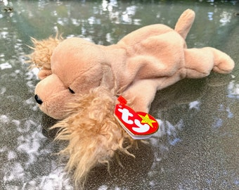 1997 TY Beanie Baby Spunky the Cocker Spaniel