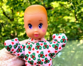 1993 Magic Nursery McDonald's Happy Meal Holiday Baby Dolls