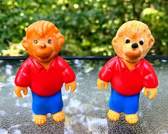 1986 Berenstain Bears Brother Bear McDonald's Happy Meal Toy