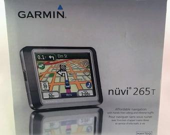Garmin nüvi 265T Bluetooth GPS Navigator