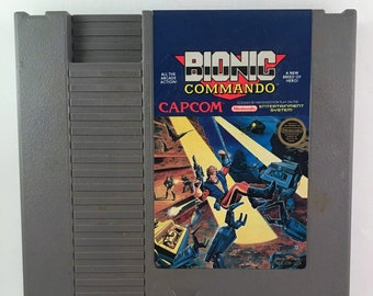 Bionic Commando Nintendo NES Game