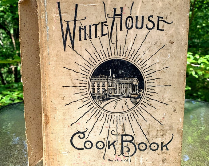 Featured listing image: The White House Cookbook - Revised