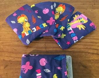 Handmade My Little Pony Pill Pouch, Sleeve