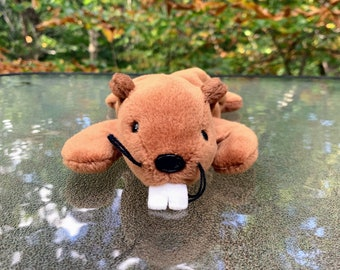 1996 TY Beanie Baby Bucky the Beaver