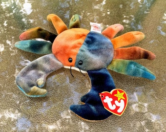 1997 Ty Beanie Baby Claude the Crab