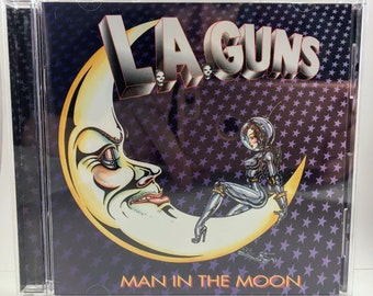 L.A. Guns Man in the Moon CD