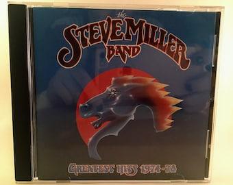 The Steve Miller Band Greatest Hits CD 1974-78