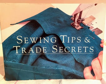 Sewing Tips & Trade Secrets Book