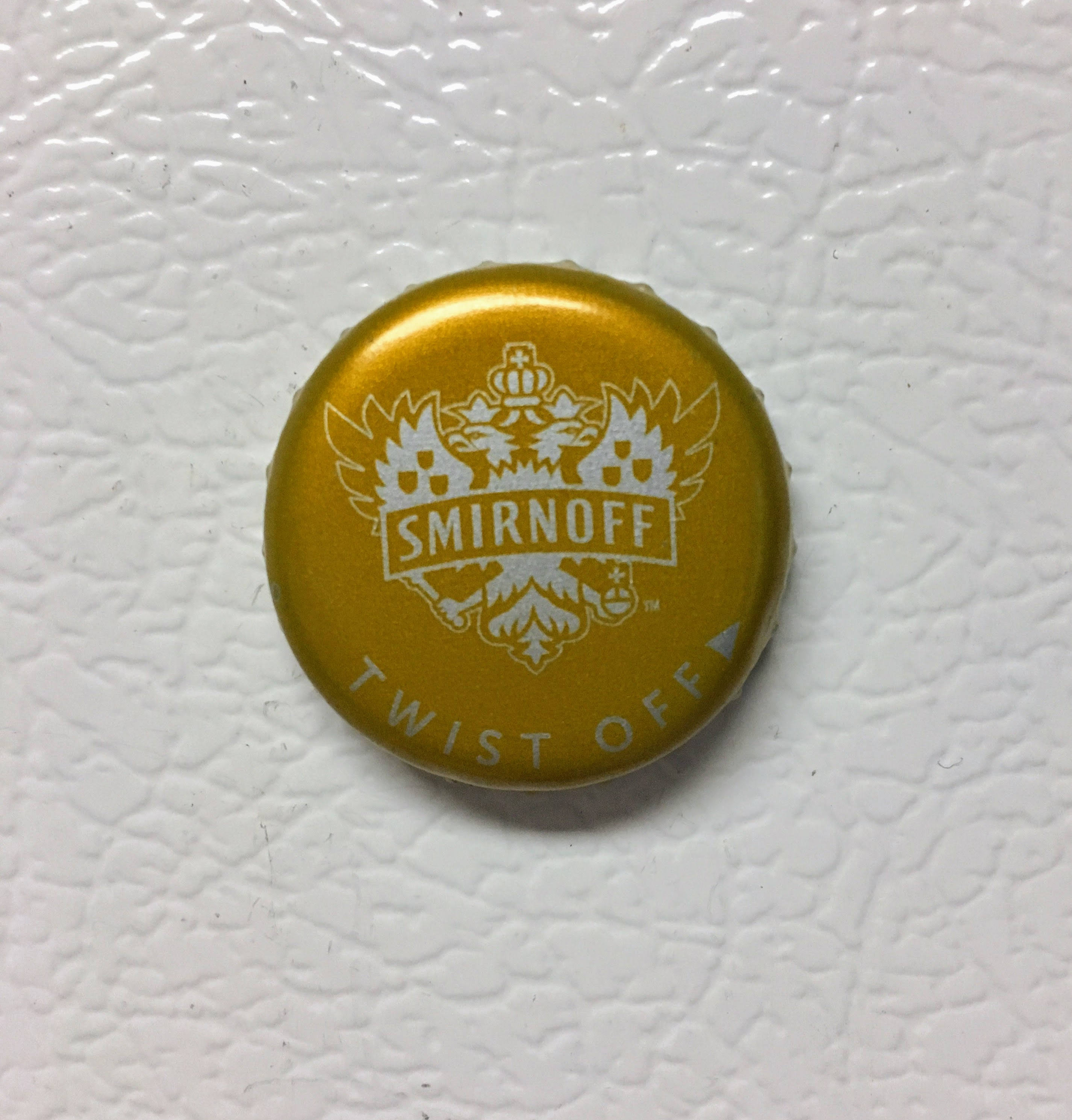 Handmade Smirnoff Bottle Cap Refrigerator Magnets
