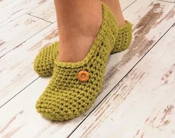 Crochet Slippers Etsy