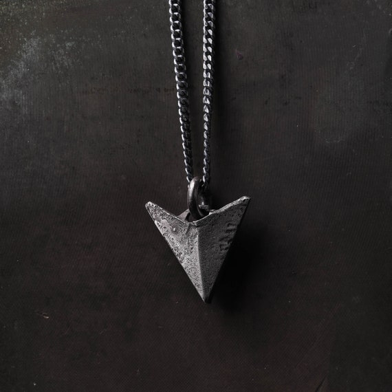 Silver 925 Pendant triangle Arow