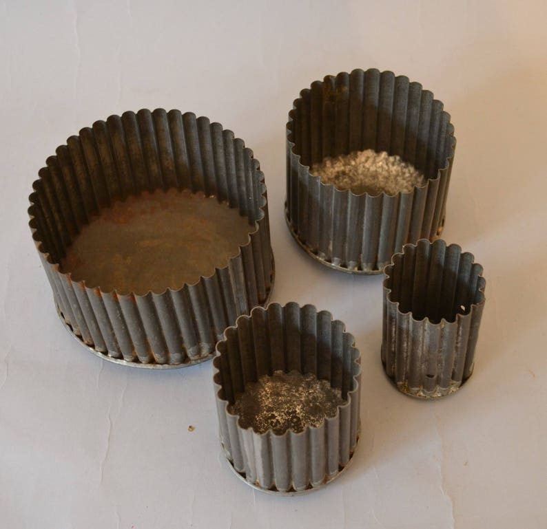 Antique Vintage Tin Cookie Cutters from Toronto