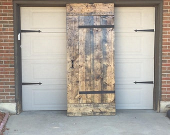 Industrial Sliding Barn Door - Customize your size