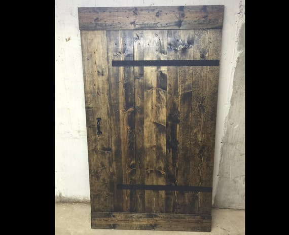 Industrial Barn Door Extra Wide Customize Your Size | Etsy