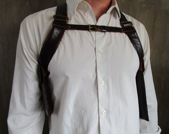 Holster Bag, Holster, Shoulder Holster, Hip Bag, Shoulder Bag, Festival Bag, Leather Holster Bag, Leather Holster, Bag, Holster Purse, Vest