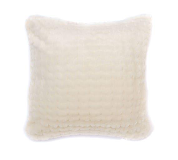 Faux Fur Decorative Pillow.Cream Herringbone Faux Fur Pillow Cover Accent Pillow Faux Fur Pillow Cover Decorative Pillow Throw Pillows