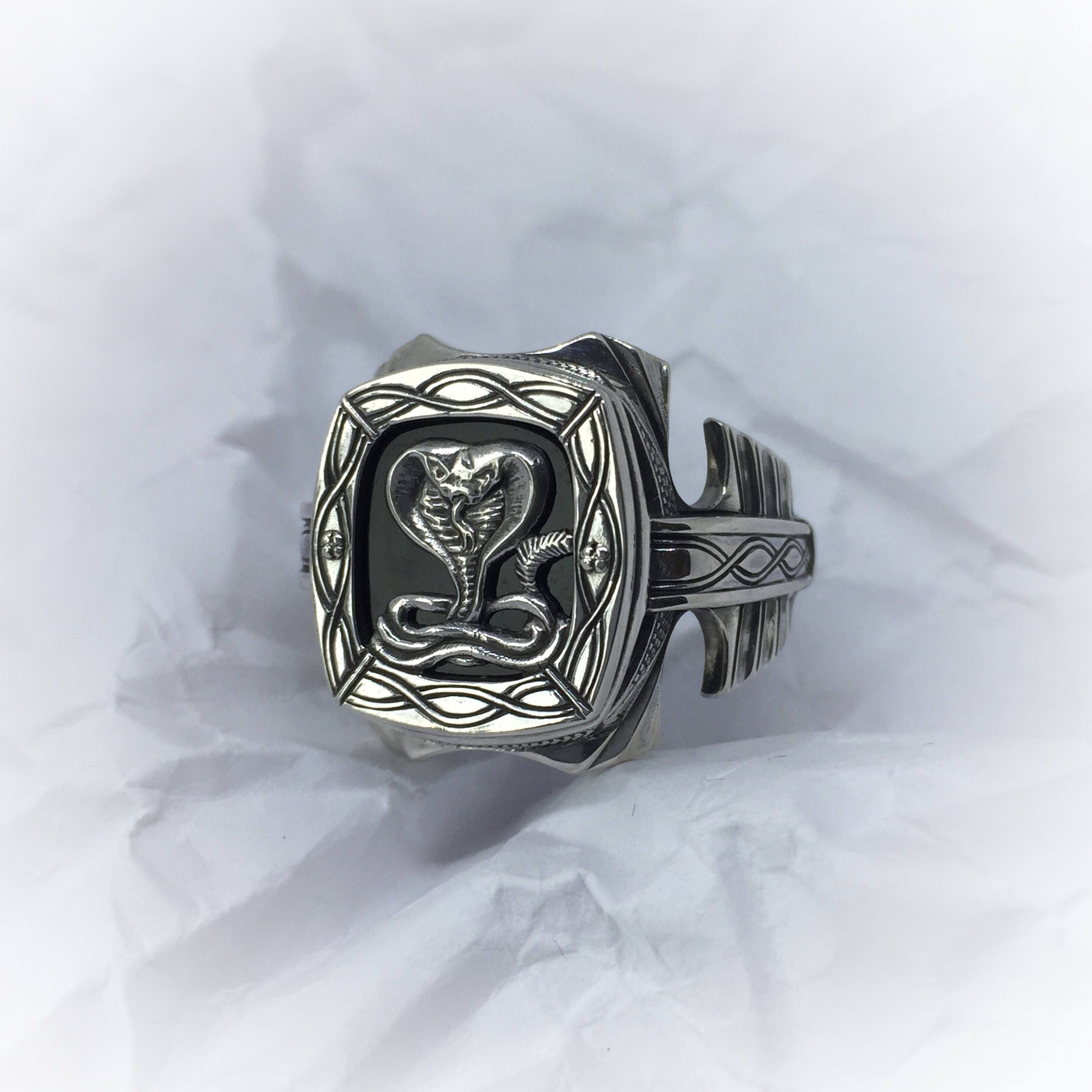 obsidian ring of the zodiac