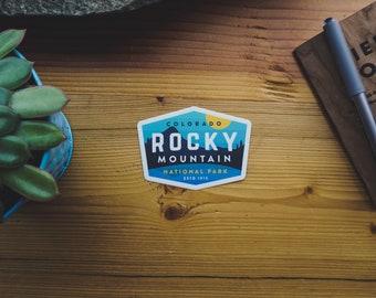 Vinyl Sticker - Rocky Mountain National Park