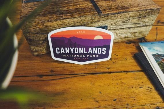 "3/"" Canyonlands National Park Sticker"
