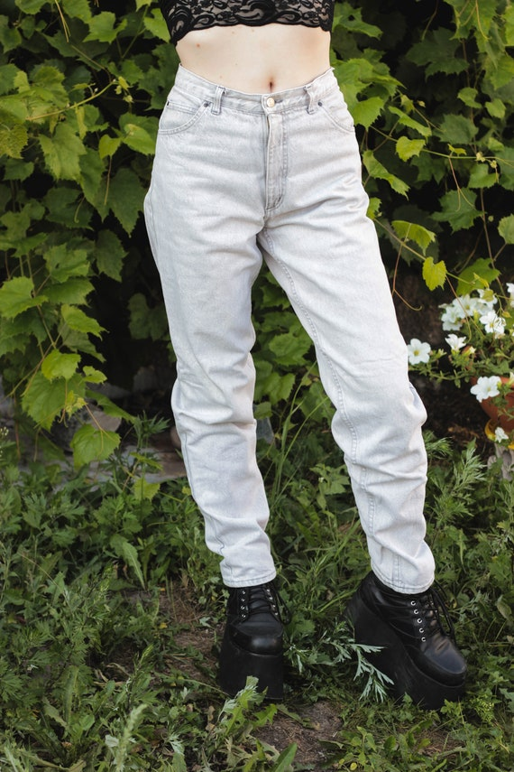 White Italian Bright Jeans Gray Rare Waist Motor Jeans Mens Blue Mens Unisex Pale High Jeans Rifle Vintage Jeans Stonewash Waist High Jeans wq60AHUt