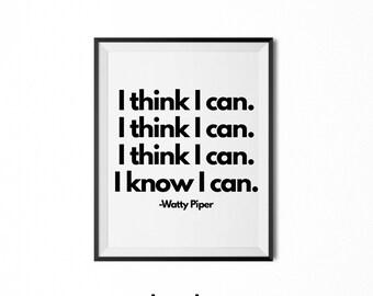 I think i can | Etsy