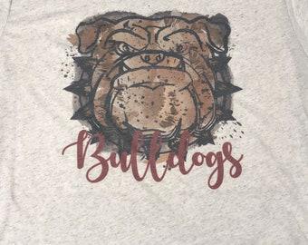 Bulldog tshirt