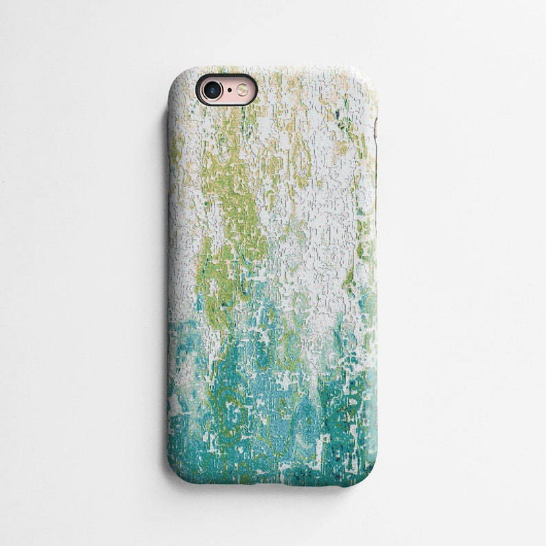 more photos e1005 efcac Mosaic iPhone 8 case, iPhone XR case, XS Max case iPhone 7 case, iPhone 6s  case, iPhone 6 plus case, tough case, abstract lime green T657