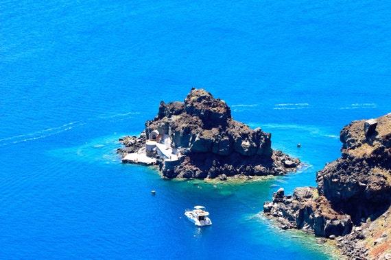 Greek Island Santorini Beach