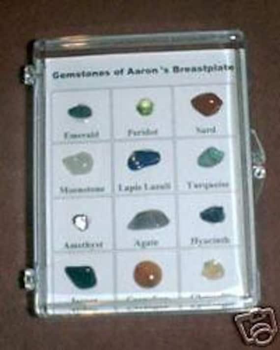 Gemstones Of Aaron S Breastplate Real Stones Etsy
