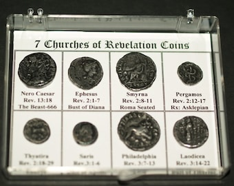 Coins of the Seven Churches of the Book of Revelation